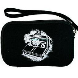 Black Zipper Small Camera Carrying Sleeve Bag Pouch Case For
