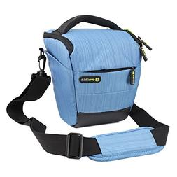 Evecase Blue Digital SLR Camera Holster Case/Bag for Canon E