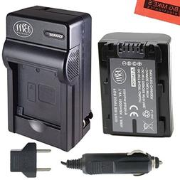 BM Premium NP-FH50 Battery + Charger for Sony Alpha DSLRA230