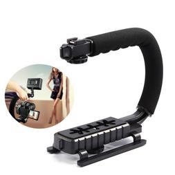 C/U-Shape Video Handle Stabilizer Grip Bracket Holder For SL