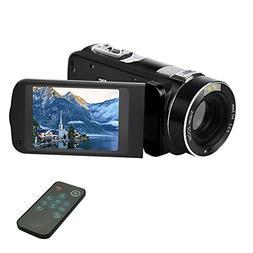 Camcorder Digital Camera Video Recorder FHD 1080p 24MP Beaut