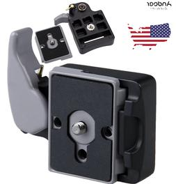 Camera 323 Quick Release Adapter Mount With Manfrotto 200PL-