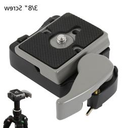Camera 323 RC2 Quick Release Plate & Clamp Adapter for Manfr