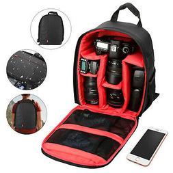 Camera Backpack Shoulder Bag Case for Canon Nikon Sony DSLR