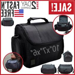 Camera Bag Case DSLR Canon Nikon Sony Mirrorless Photo Shoul