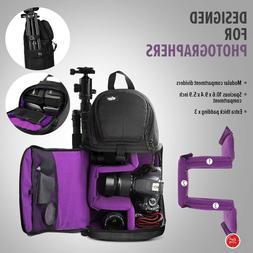 Camera Bag For Women Men Backpack Mirrorless Case Sling Acce