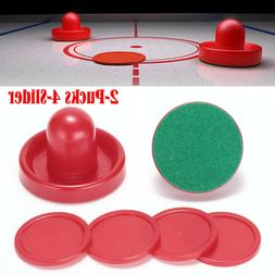 Air Hockey Set Home Table Game Replacement Accessories 2-Puc
