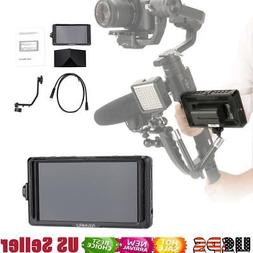 Camera Field Monitor Small  HDMI 5 Inch IPS Full HD 1920x108