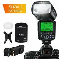New ESDDI Camera Flash for Canon SLR DSLR E-TTL 1/8000 HSS G