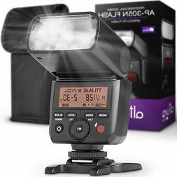 Camera Flash for Nikon by Altura Photo - I-TTL Speedlite for