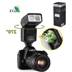 Camera Flash Gun Speedlite For DSLR Fujifilm Nikon D7000 D32