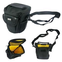 Camera Lens Black Photography Small Holster Shoulder Bag for