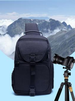 Camera Sling Backpack Bag Shock-resistant DSLR/SLR Camera Ca
