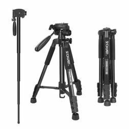camera tripod monopod 55 compact light weight