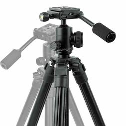 Camera Tripod, Portable Lightweight Compact Travel DSLR Trip
