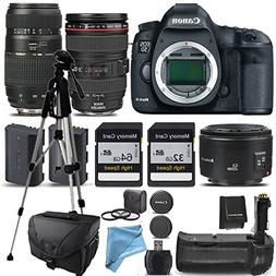 Canon 5D Mark III 3 Body + Canon 24-105mm f/4L IS USM Lens,