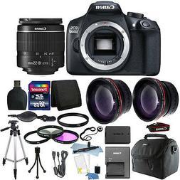 Canon EOS 1300D/T6 18MP DSLR Camera + 18-55mm Lens + 16GB Ac