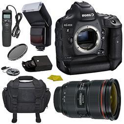Canon EOS-1DX Mark II DSLR Camera Bundle  No Warranty