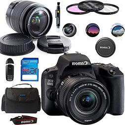 Canon EOS 200D/Rebel SL2 Kit with EF-S 18-55mm f/4-5.6 IS ST