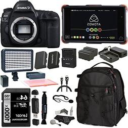 Canon EOS 5D Mark IV DSLR Camera Body, Atomos Ninja Flame wi