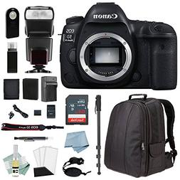 Canon EOS 5D Mark IV Full Frame Digital SLR Camera - Body On