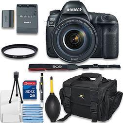 Canon EOS 5D Mark IV Digital SLR Camera with EF 24-105mm f/4