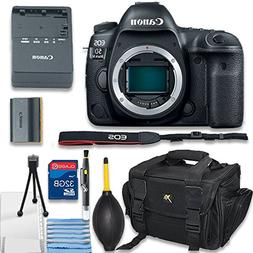 Canon EOS 5D Mark IV Digital SLR Camera Body Only Bundle inc