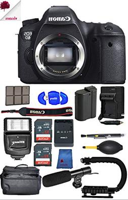 Canon EOS 6D DSLR Camera Body Only  USA - Full Accessory Vid