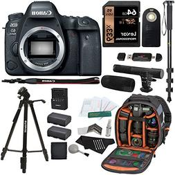 Canon EOS 6D Mark II Digital SLR Camera Body, Sandisk Ultra