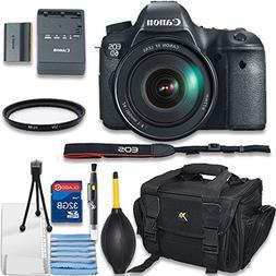 Canon EOS 6D Digital SLR Camera Bundle With EF 24-105mm f/4L