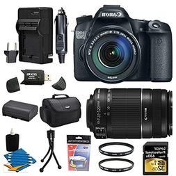 Canon EOS 70D 20.2 MP CMOS Digital SLR Camera and EF-S 18-13
