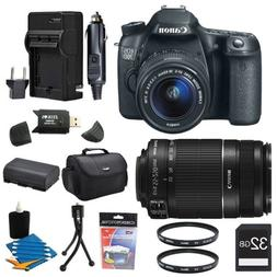 Canon EOS 70D 20.2 MP CMOS Digital SLR Camera and EF-S 18-55