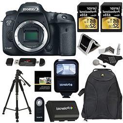 Canon EOS 7D Mark II Digital SLR Camera Body + Polaroid 32GB