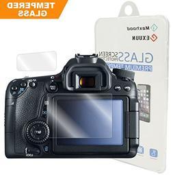 Canon EOS 80D / 70D Tempered Glass Screen Protector, Exuun O