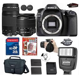 Canon EOS 80D Digital SLR Camera + 18-55 ISSTM Lens+ Canon E