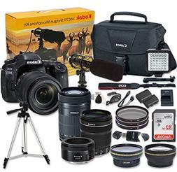 Canon EOS 80D Digital SLR Camera + EF-S 18-135mm f/3.5-5.6 I