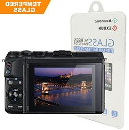 Canon EOS M3 / M5 / M10 / 100D / G1 X Mark II Tempered Glass
