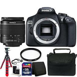 Canon EOS Rebel 1300D/T6 18MP DSLR Camera w/18-55mm Lens + A