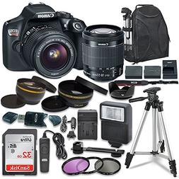 Canon EOS Rebel T6 Digital SLR Camera with Canon EF-S 18-55m
