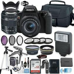 Canon EOS Rebel SL3 DSLR Camera Bundle with Canon EF-S 18-55