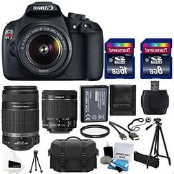 Canon EOS Rebel T5 18MP EF-S Digital SLR Camera Bundle with