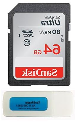 Canon EOS Rebel T5 Memory Card SanDisk SD Ultra SD Memory Ca