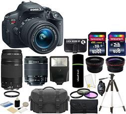 Canon EOS Rebel T5i 18.0 MP CMOS Digital SLR Camera + 18-55m