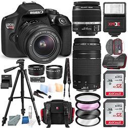 Canon EOS Rebel T6 DSLR Camera W/EF-S 18-55mm f/3.5-5.6 is I