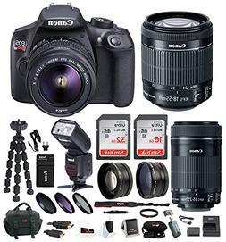 Canon EOS Rebel T6 Digital Camera: 18 Megapixel 1080p HD Vid