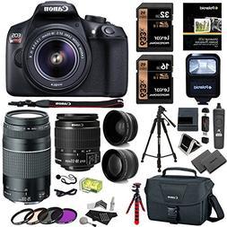 Canon EOS Rebel T6 DSLR Camera Kit, EF-S 18-55mm is II Lens,