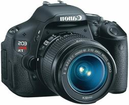 Canon EOS Rebel T6 DSLR Camera & 18-55mm Lens - Black