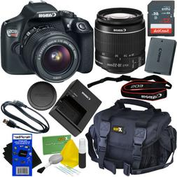 Canon EOS Rebel T6 DSLR Camera with EF-S 18-55mm is II Lens