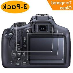 Compatible Canon EOS Rebel T6 T5 1300D 1200D Screen Protecto