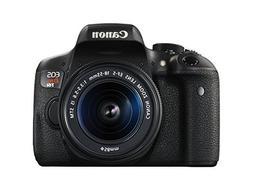 Canon EOS Rebel T6i Digital SLR with EF-S 18-55mm IS STM Len